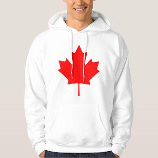 Hoja de arce de Canadá Sudaderas