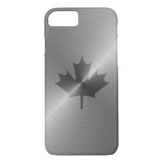 Hoja de arce del platino de Canadá Funda iPhone 7