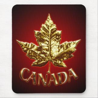 Hoja de arce Mousepad de Mousepad Canadá de la ban Alfombrilla De Ratón