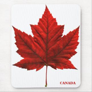 Hoja de arce roja Mousepad de Canadá Mousepad Cana Tapetes De Ratón