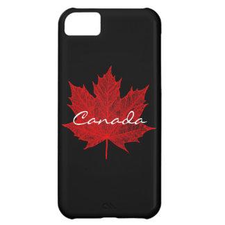 Hoja de arce rojo Canadá