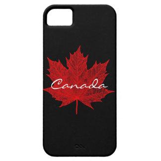 Hoja de arce rojo Canadá iPhone 5 Case-Mate Carcasas
