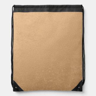 Hoja de bronce impresa mochilas