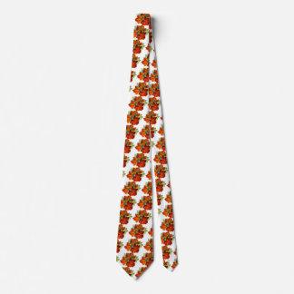 Hoja de la caída de las hojas de otoño del vintage corbata personalizada