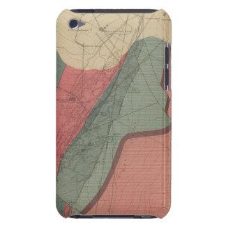 Hoja de la montaña de Aspen Case-Mate iPod Touch Protectores