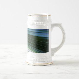 Hoja de la palmera tazas de café