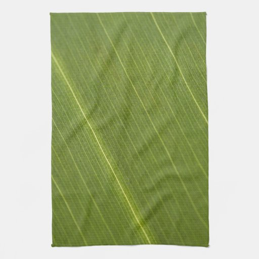 Hoja de la palmera toallas
