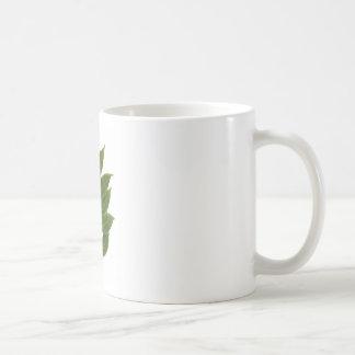 Hoja de laurel taza clásica