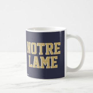 HOJA DE METAL DE NOTRE TAZA DE CAFÉ