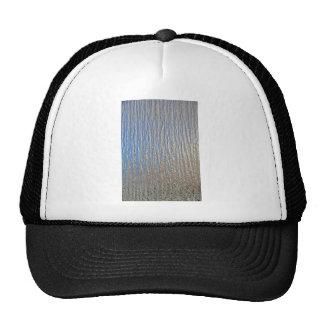 Hoja de metal decorativa brillante gorras de camionero
