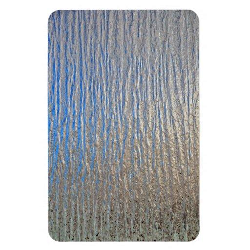 Hoja de metal decorativa brillante iman de vinilo