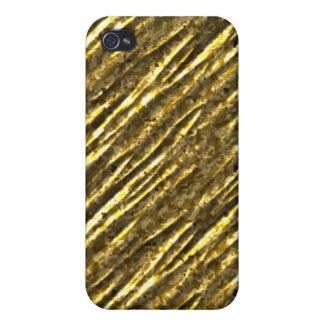 Hoja de oro Bling iPhone4 iPhone 4 Cárcasa