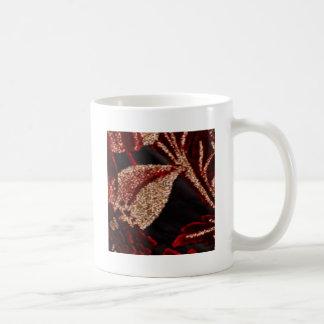 Hoja de oro de NOVINO Zazzling Tazas De Café