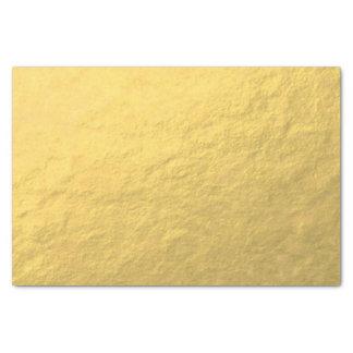 Hoja de oro elegante impresa papel de seda pequeño