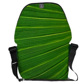 Hoja de palma bolsa messenger
