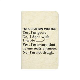 Hoja de respuesta divertida del escritor de la cuaderno