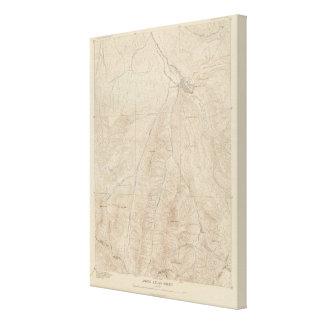 Hoja del atlas de Aspen Impresiones En Lona Estiradas
