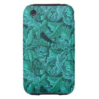 Hoja del azul de William Morris Funda Though Para iPhone 3