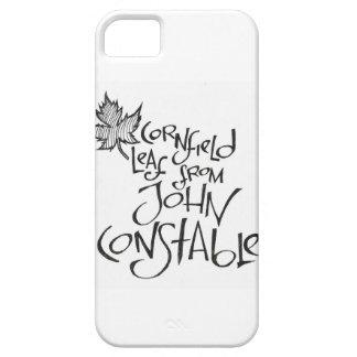 Hoja del campo de maíz de John Constable iPhone 5 Case-Mate Cárcasa