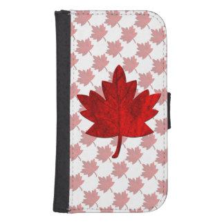 Hoja del Canadá-Arce Billeteras Para Teléfono