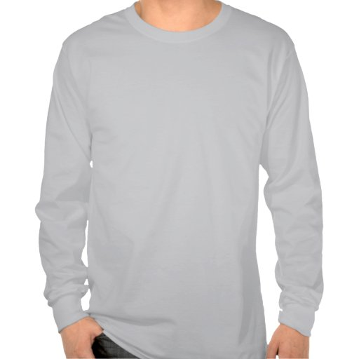 Hoja del cemento camiseta