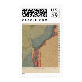 Hoja del distrito de Aspen Timbres Postales