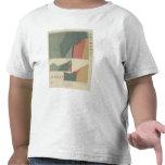 Hoja del distrito de mina de Lenado Camisetas