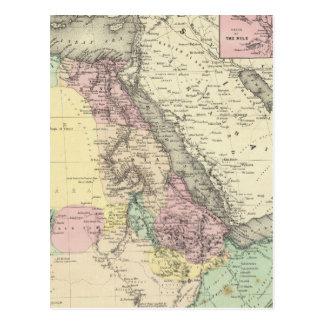 Hoja del noreste de África Tarjeta Postal