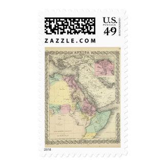 Hoja del noreste de África Timbre Postal