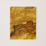 Hoja del oro puzzle