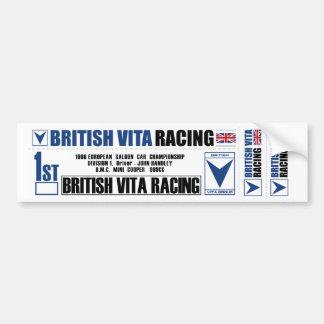 Hoja del pegatina de BritishVita Pegatina Para Auto