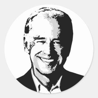 Hoja del pegatina de Joe Biden