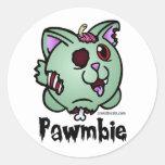 Hoja del pegatina de Pawmbie