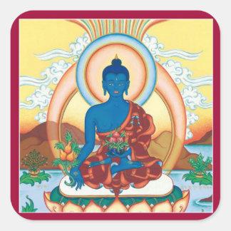 HOJA del PEGATINA - medicina Buda - amo curativo