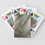Hoja del pino cartas de juego