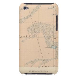 Hoja detallada IX de la geología iPod Touch Cobertura