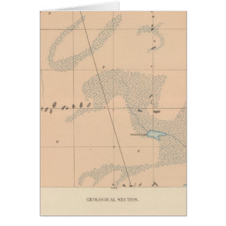 Hoja detallada IX de la geología Tarjetón