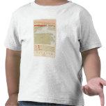 Hoja detallada V de la geología Camisetas