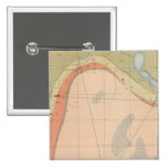 Hoja detallada VII de la geología Pin Cuadrado
