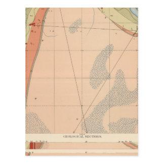 Hoja detallada VII de la geología Postal
