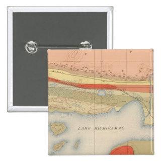 Hoja detallada VIII de la geología Pin