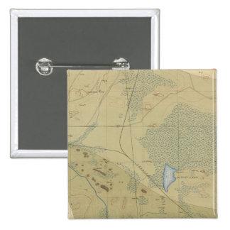 Hoja detallada XIX de la geología Pin Cuadrado