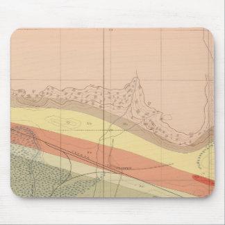 Hoja detallada XV de la geología Tapete De Raton