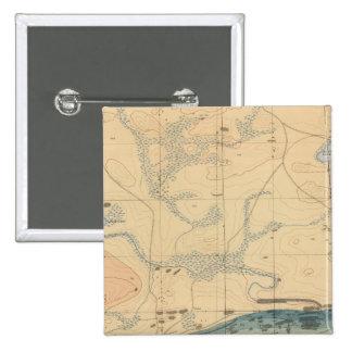 Hoja detallada XXX de la geología Pins
