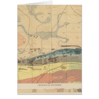 Hoja detallada XXX de la geología Tarjeta De Felicitación