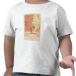 Hoja detallada XXXI de la geología Camisetas