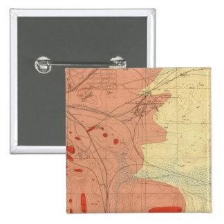 Hoja detallada XXXI de la geología Pin