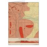 Hoja detallada XXXI de la geología Tarjeta