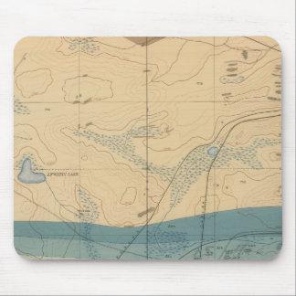 Hoja detallada XXXIII de la geología Mouse Pads