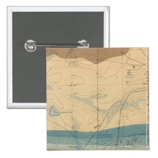 Hoja detallada XXXIII de la geología Pin Cuadrado